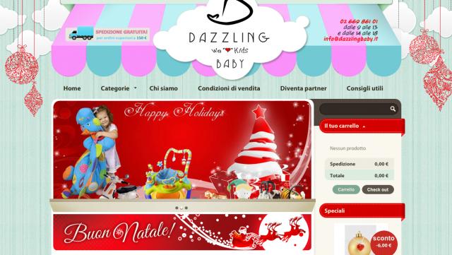 Dazzlingbaby ecommerce