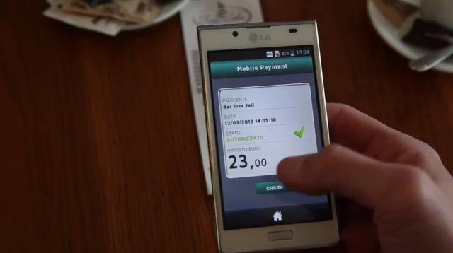 Crescono i pagamenti mobile