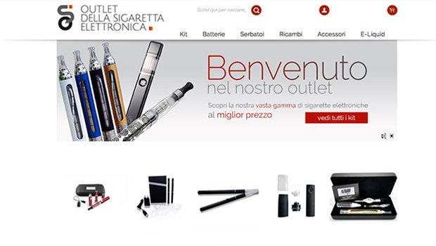 Ecommerce sigaretta elettronica
