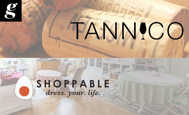 e-commerce di vino e design