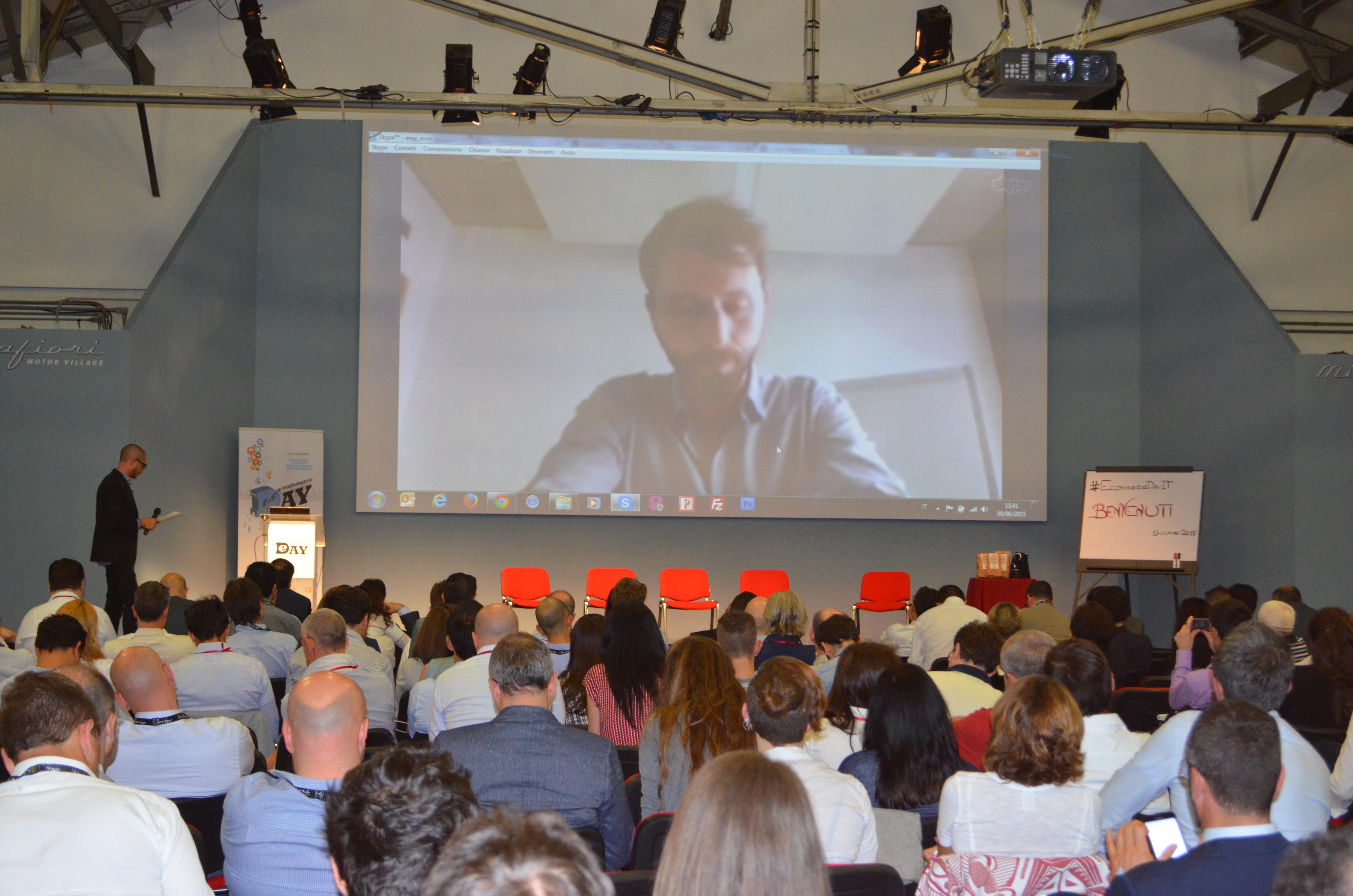 Giuseppe Tamola di Zalando all'Ecommerce Day VI edizione