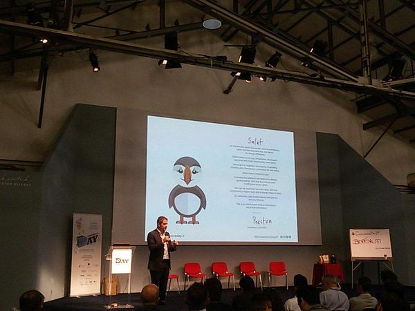 PrestaShop all'Ecommerce Day, la nuova mascotte Preston