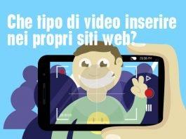 Che video inserire nen web