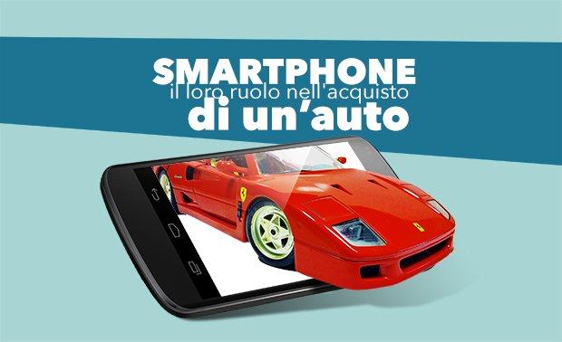 Smartphone acquisto auto