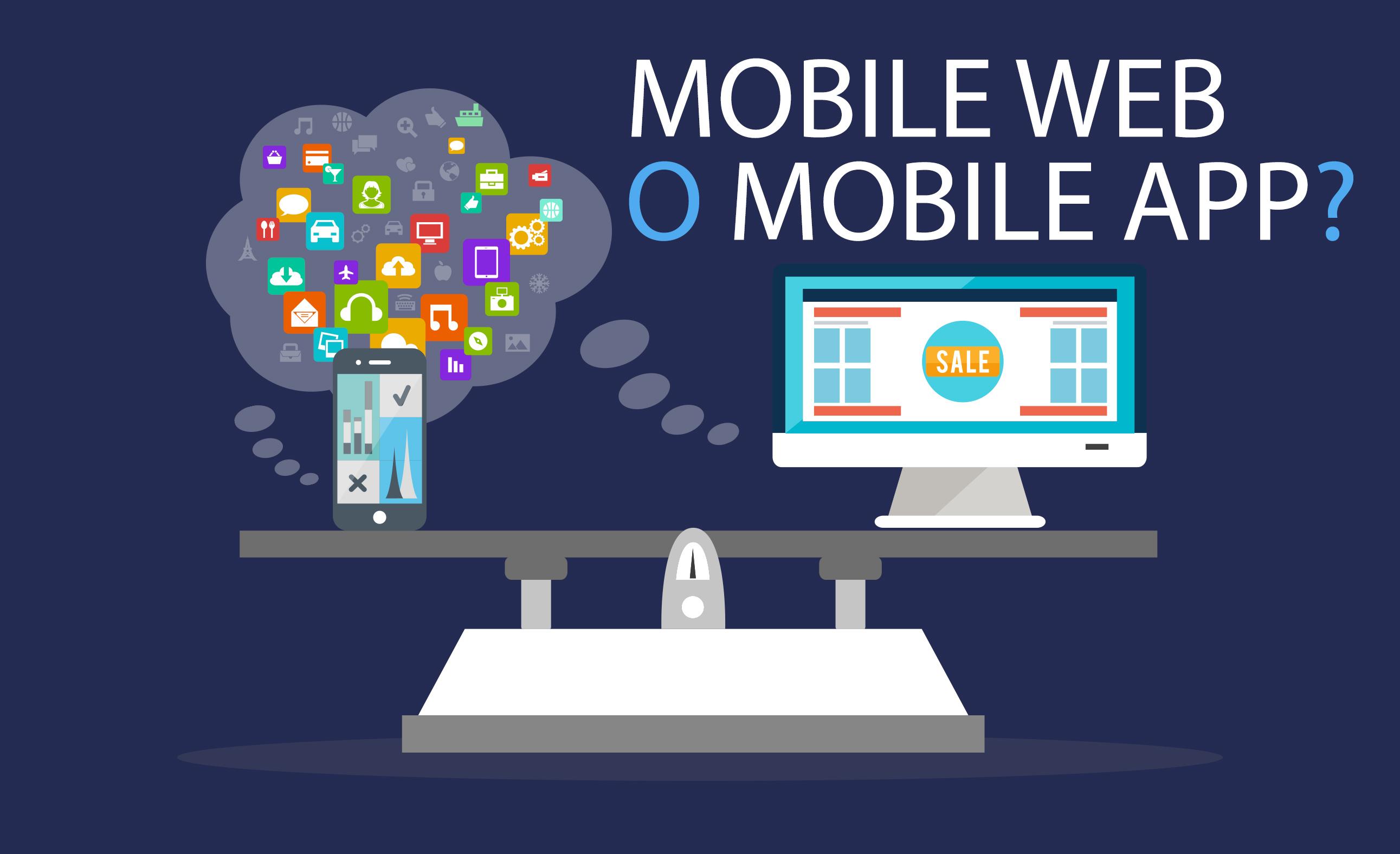 e-commerce mobile-web-o-mobile-app