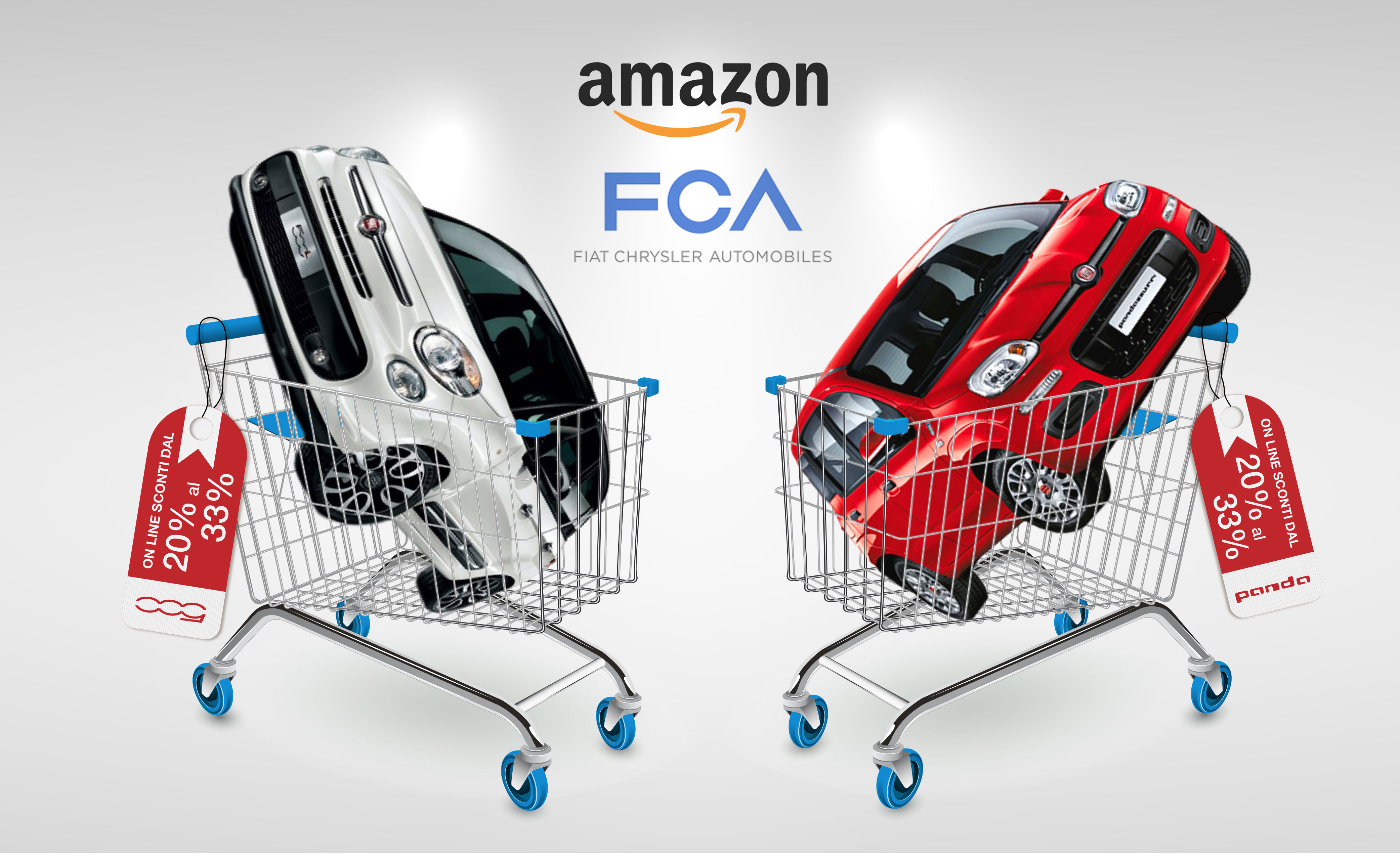 Amazon e FCA: un accordo che guarda al futuro