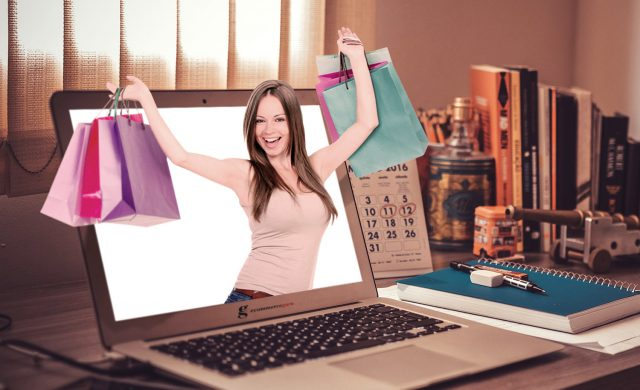 Pazzi per lo shopping online