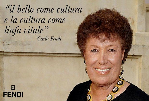 Carla Fendi: una vita dedicata alla moda e alla cultura.