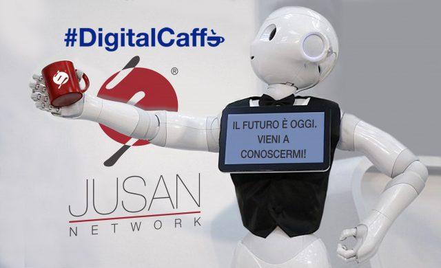 Digital Caffè: robot