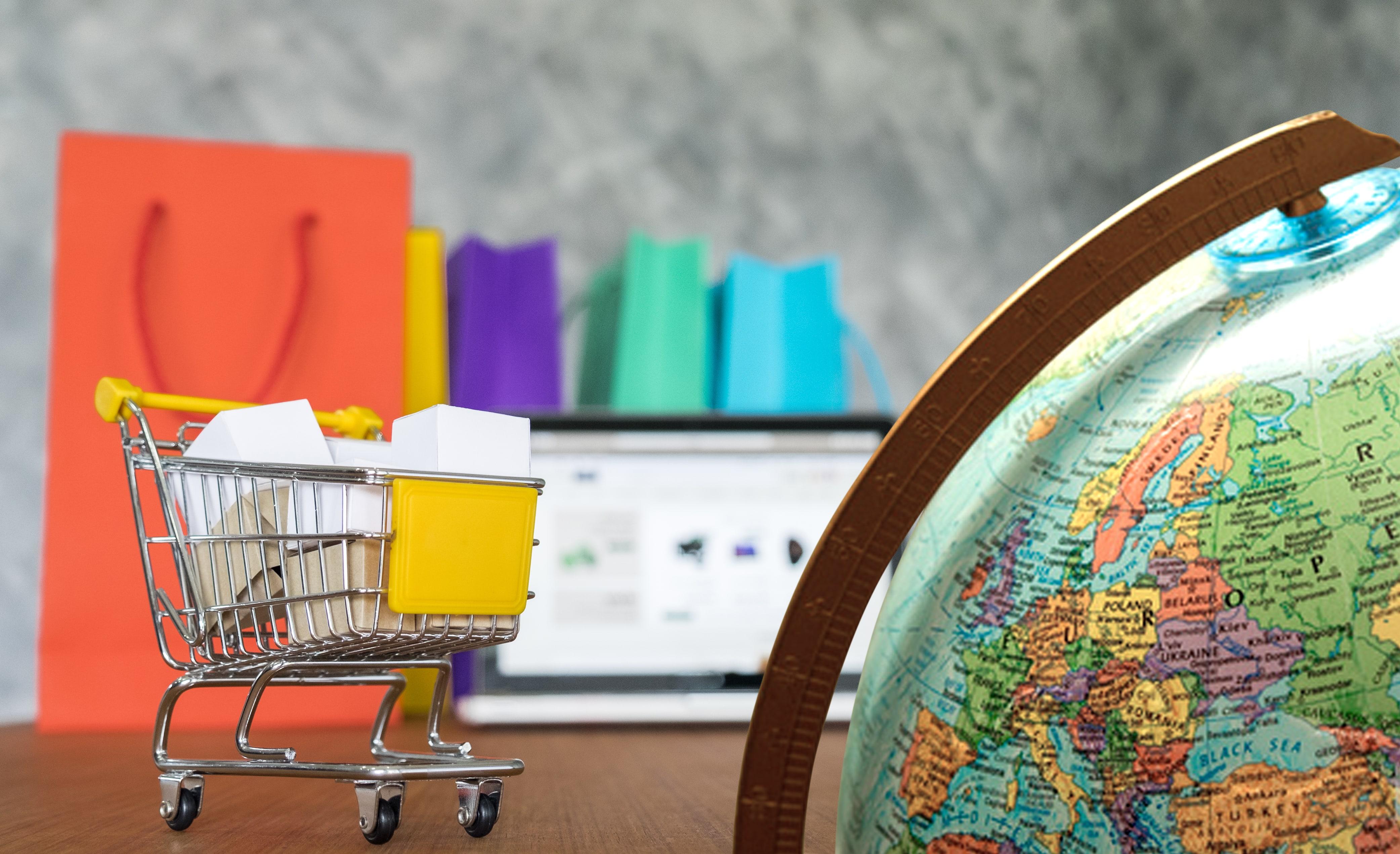 In Italia gli acquisti online sono ancora bassi.