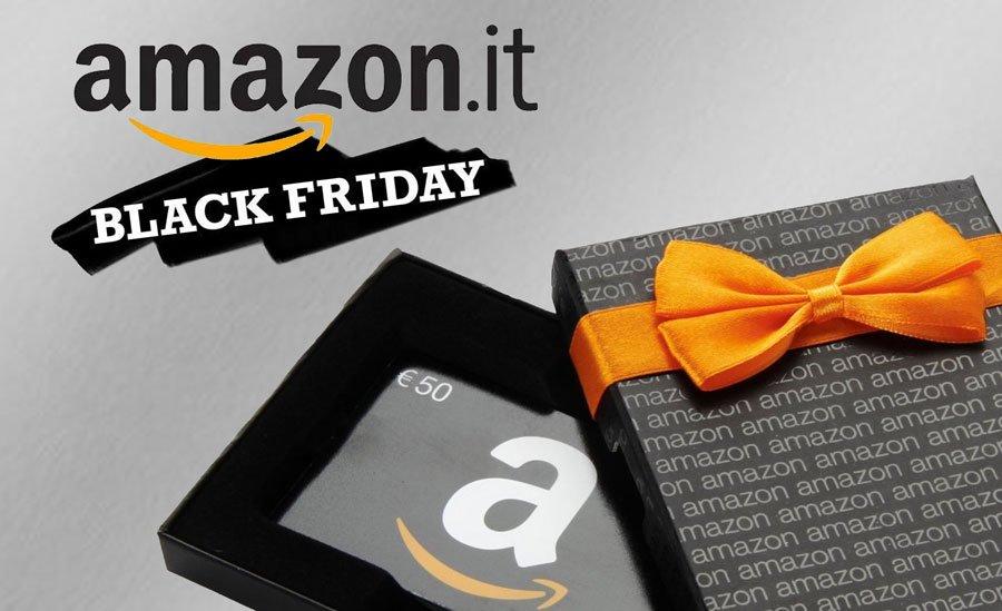 Amazon: offerte per il Black Friday in anticipo di cinquanta giorni