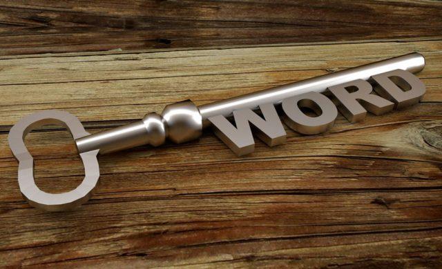 Breve guida alla creazione delle parole chiave