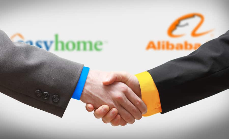 ecommerce retail Alibaba punta store fisici