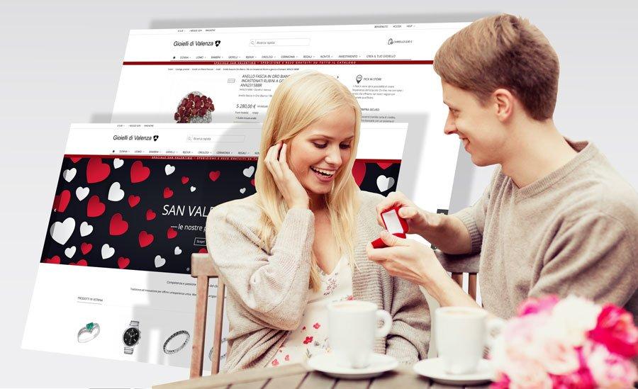 Gioielli di Valenza cambia look e si prepara all'appuntamento di San Valentino con i propri utenti