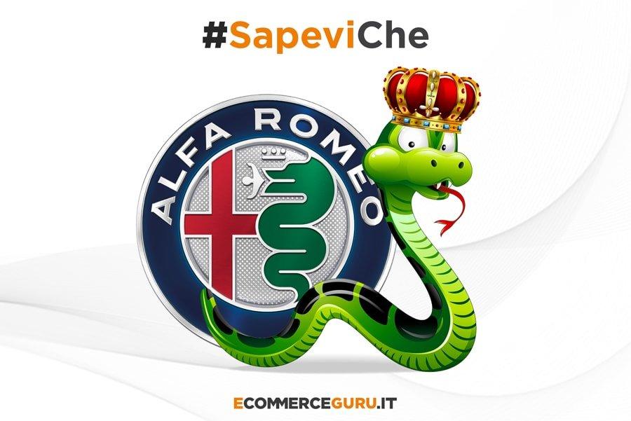 alfa romeo logo serpente bambini storia