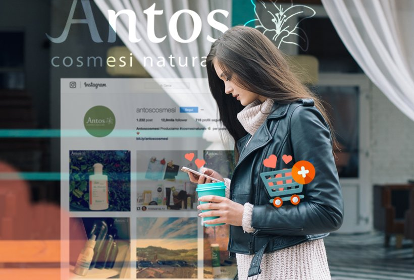 antos cosmesi come ecommerce usare instagram