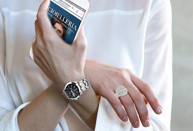 Lusso orologi gioielli guidano la riscossa-dei negozi fisici sul web