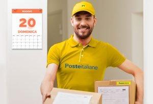 Poste Italiane sfida ecommerce: consegna nel weekend