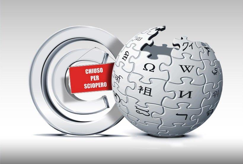 Wikipedia-sciopera-per-il-copyright