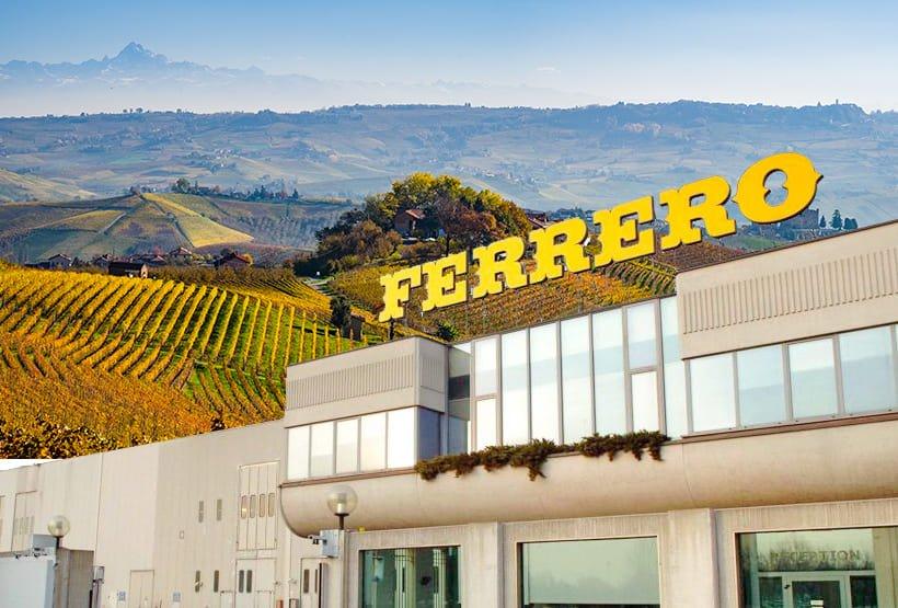 Ferrero: da brand del territorio a colosso mondiale