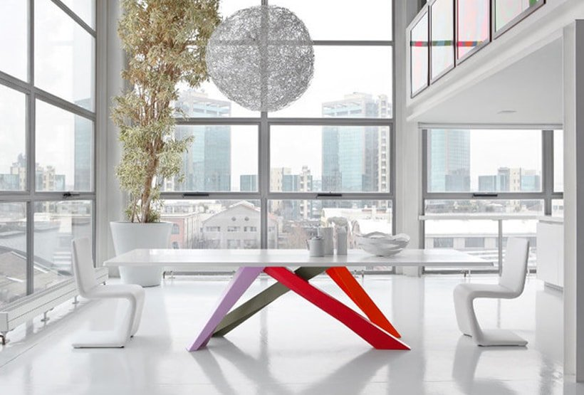 I tavoli di design della collezione Bonaldo: un viaggio attraverso ...