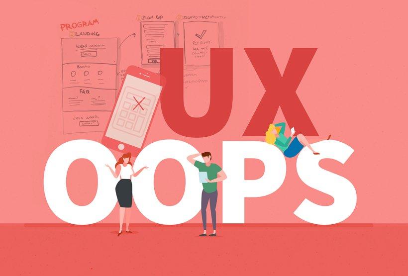 Quali errori di UX design devi assolutamente evitare