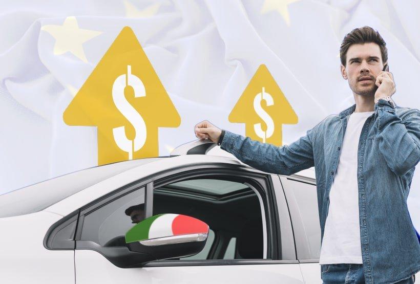 rc auto più alte italia europa
