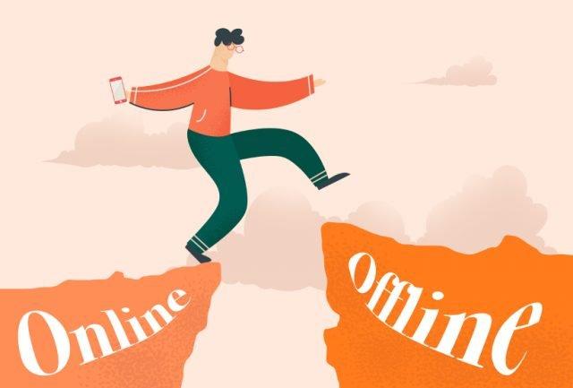 Mondo online o mondo offline