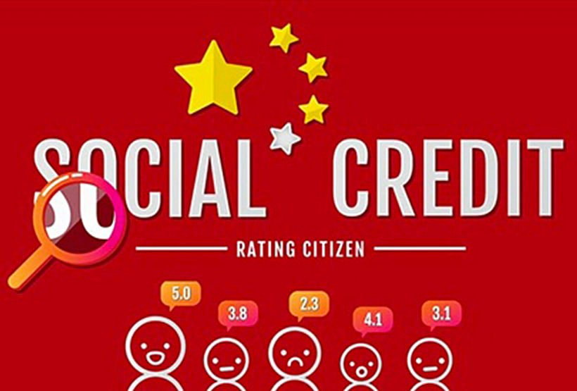 social credit system cinese