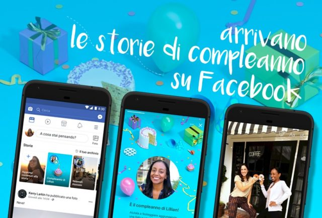 storie compleanno facebook
