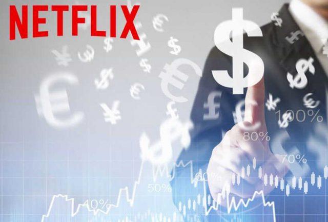 Netflix cresce