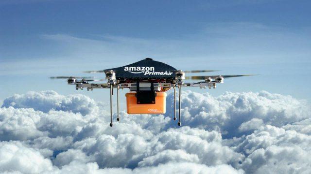 Amazon consegne con i droni