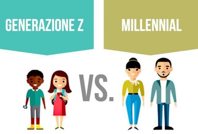 Generazione Z e Millennial