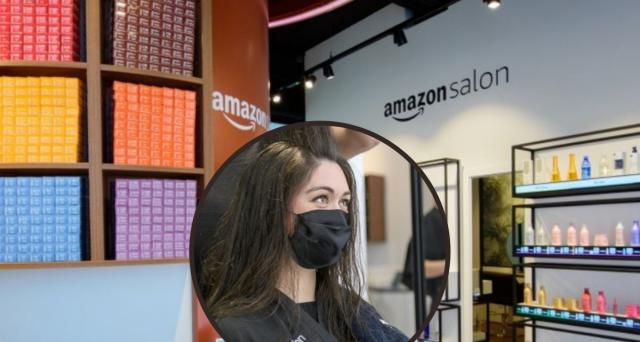 Amazon apre salone da parrucchiere