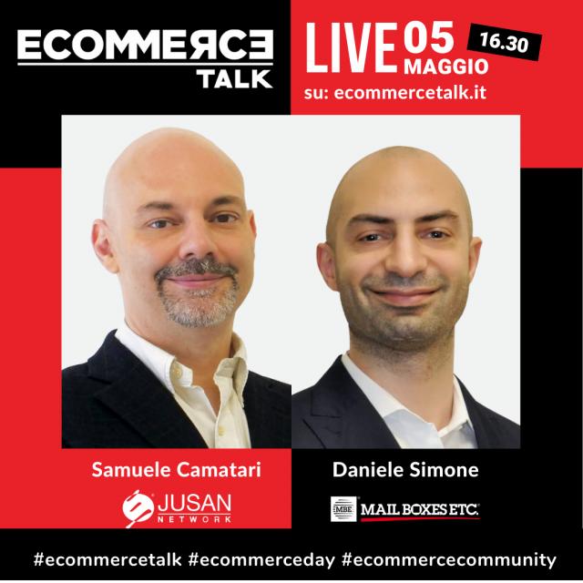 Samuele Camatari e Daniele Simone di MBE a EcommerceTalk