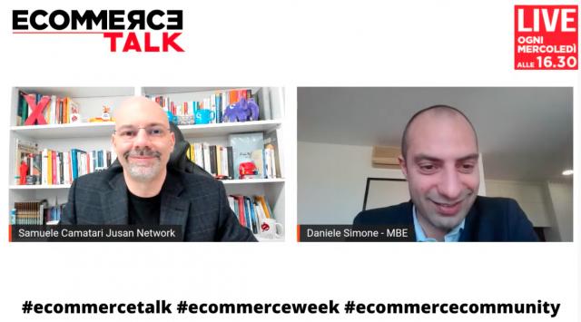 Daniele Simone a EcommerceTalk i vantaggi di avere un partner come Mail Boxes Etc.
