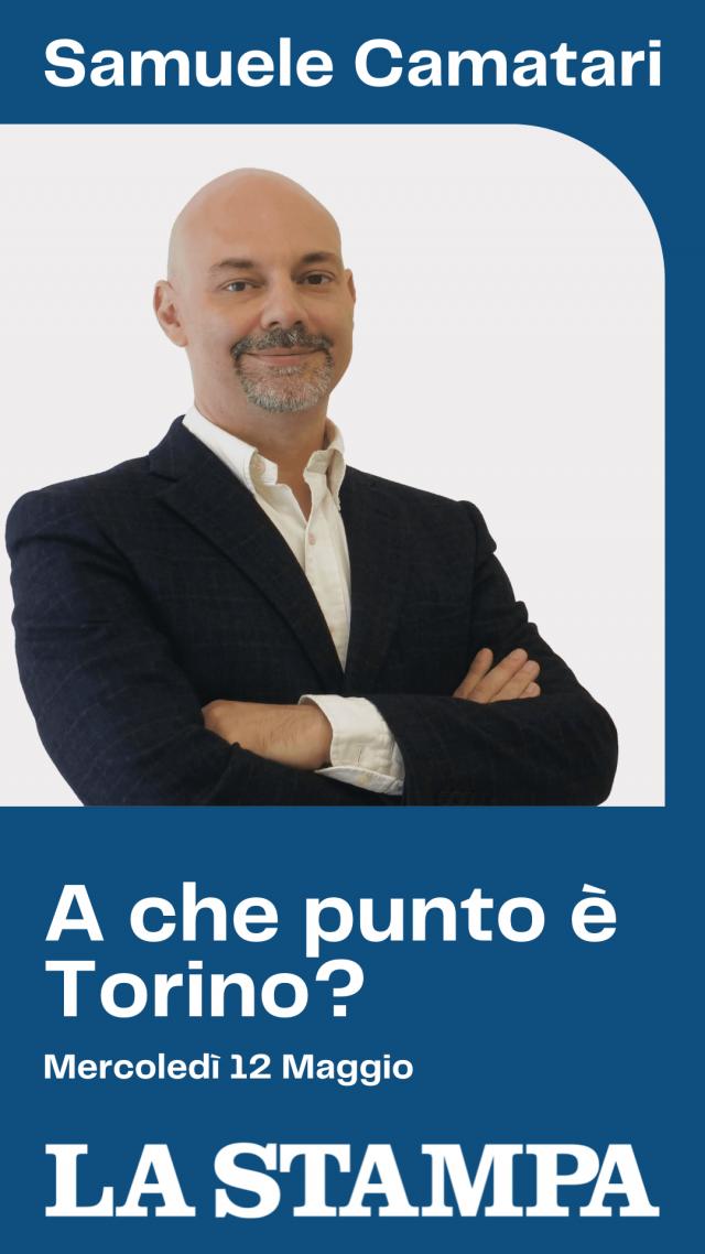 Samuele camatari intervistato da l stampa a che punto è Torino