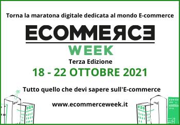 Torna EcommerceWeek terza edizione ad ottobre 2021