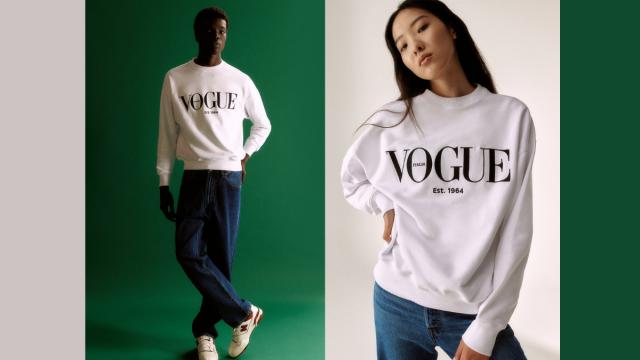 la prima volta nella sua storia Vogue Italia lancia una collezione di abbigliamento in vendita in esclusiva sul nuovo e-shop di vogue.it