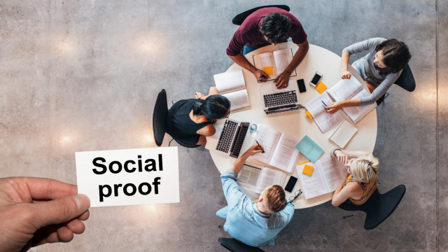 Social media e Social Proof marketing